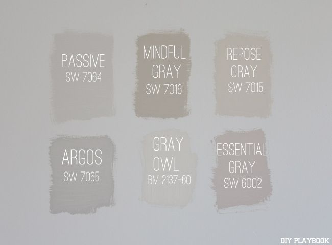We did some painting in our new condo. Here's how to choose a gray paint color.