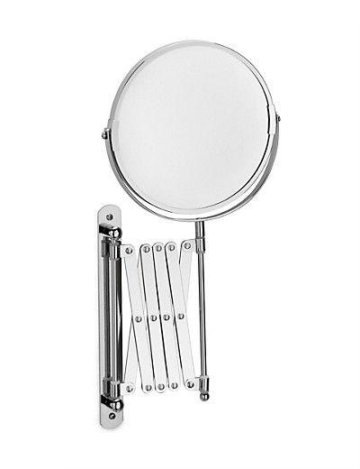 Zigzag Extendable Bathroom Mirror