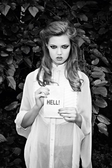 HELL!!Terry O'Neil, Lindsey Wixson, Inspiration, Hells, White, Fashion Photography, Purple Fashion, Terry Richardson, Lindseywixson
