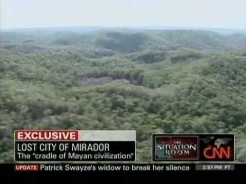 World's Largest Pyramid Discovered, Lost Mayan City Of Mirador Guatemala...