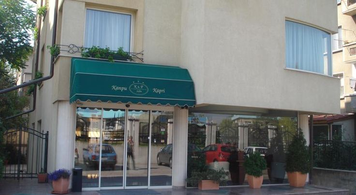 Kapri Hotel Sofia Kapri Hotel is located in a quiet quarter of Sofia, in close proximity to the city centre and 9 km away from the Sofia Airport. The restaurant serves Bulgarian cuisine and a buffet breakfast, and there is free WiFi in public areas.