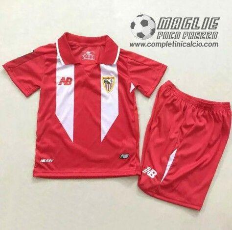 Away Maglia Calcio Bambini FC Sevilla 2016  €15.5