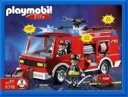 Playmobil Fire Station is the kind of toy that makes boys and girls drool. Yes, girls love fire trucks too. You will need to get a fire truck...