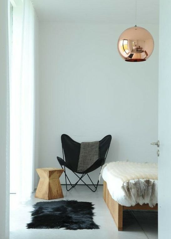 Tom Dixon Copper Pendant 1938 Butterfly Chair