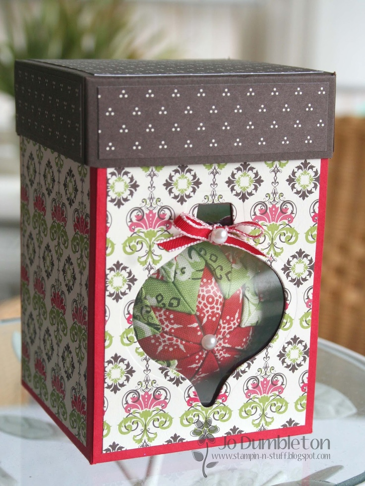 Christmas Ornament in a Gift Box to Match