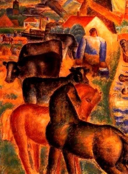The Athenaeum - Milking Time on the Farm (Leo Gestel - )