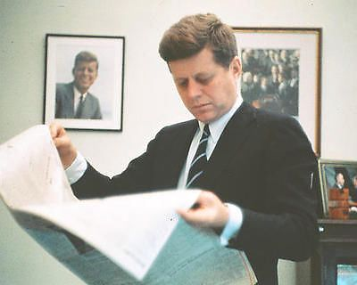 Click Image to Buy: JOHN F. KENNEDY POSTER 24X36  RARE OUT OF PRINT OOP  JFK PRESIDENT 1960s 75.00