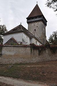 Biserica fortificată din Chirpăr  Machetă pentru biserica fortificată din Chirpăr