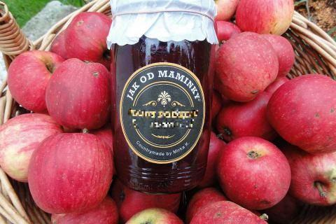Jak připravit jablečná povidla se šťávou z bezinek | recept
