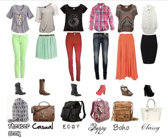 Outfits for School u2013 Simple and Cute | School outfits ...