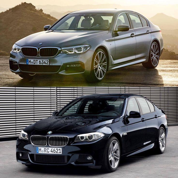 G30 5 Series vs. F10 5 Series - Photo Comparison - http://www.bmwblog.com/2016/10/12/g30-5-series-vs-f10-5-series-photo-comparison/