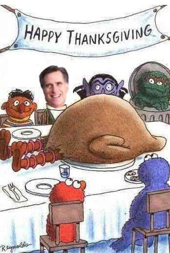 Romney vs. Big Bird