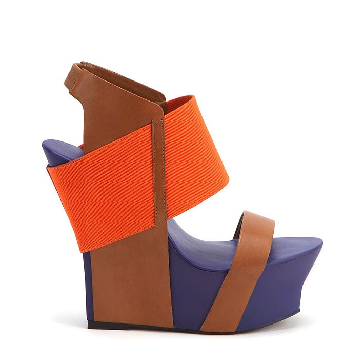this beauty takes my breath away--it's the Geisha Hi from United Nude...: Colors Combos, Hot Shoes, Geishas, Fall Shoes, Summer Shoes, Colorblock Wedges, Summer Wedges, Nudes, United Nude