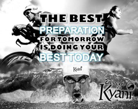 La migliore preparazione per DOMANI è fare il tuo meglio OGGI!  #preparation #sport #nevergiveup #quoteoftheday #kyani #kivekyani #kyaniitalia #experiencemore #benefitkyani #xtreme #sportestremo #allenamento #nuoto #bici #corsa #triathlon #squadra #perseveranza #vincere #vitamine #energia #saliminerali #alimentazionesana #integrazione #doyourbest #today #worksmart #opportunity #youcan #gokyani #neverstop#naturalsupplements #prodottinaturali #nodoping
