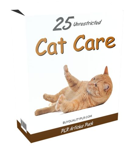 25 Unrestricted Cat Care PLR Articles Pack - http://www.buyqualityplr.com/plr-store/25-unrestricted-cat-care-plr-articles-pack/.  #catcare #cathealth #pethealth #seniorcatcare #petHealthInsurance #catteethcare #catcaresymptoms #housecat 25 Unrestricted Cat Care PLR Articles Pack In this PLR Content Pack You'll get 25 Unrestricted Cat Care PLR Articles Pack with Private Label Rights to help you dominate the Cat Care market w....