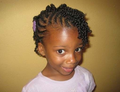 Cute Kid Hairstyles For Weddings: Wedding Hairstyles For African American Children