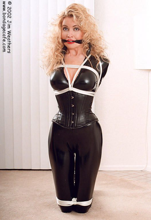 Latex belle bound and fucked like a little fucktoy 10