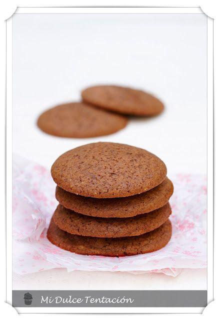 Mi dulce tentación: Galletas de Crema de Cacao Casera