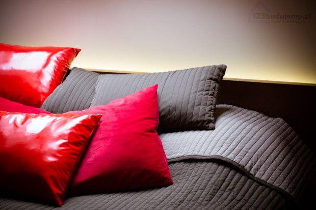Podświetlenie led łóżka, aranżacja oświetlenia w sypialni.123 Budujemy budowa domu