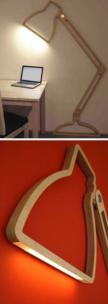 Diseño de muebles - Nepa Lamp de Giles Godwin-Brown