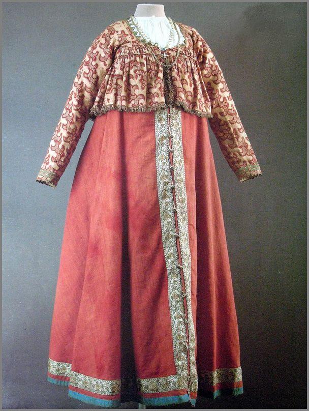 Festive clothing. Yaroslavl province. The first half of the nineteenth century.