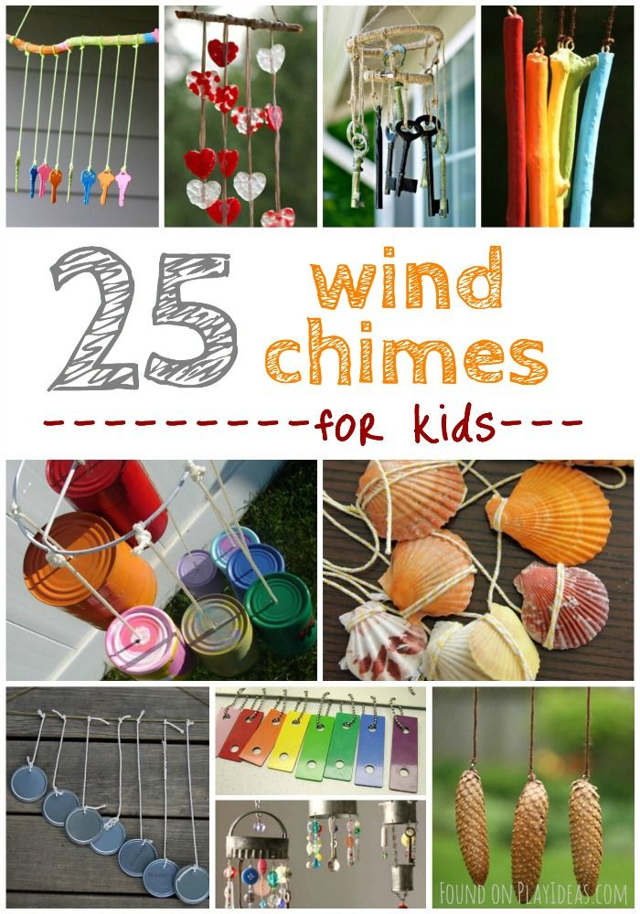 25 Easy Breezy Wind Chime Crafts For Kids