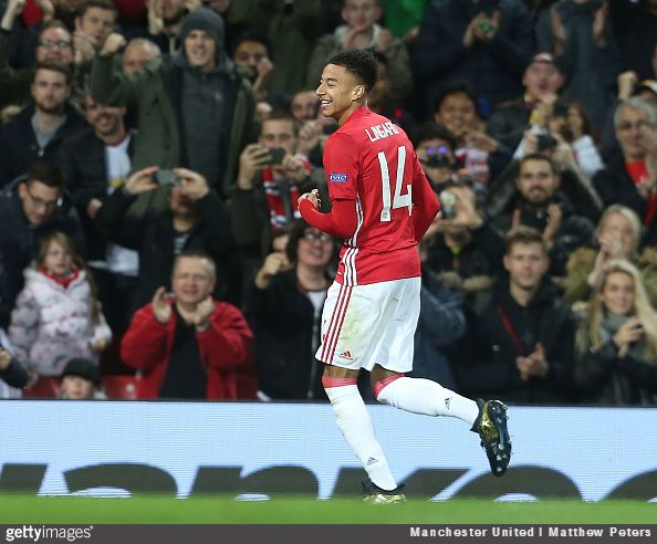 England winger Jesse Lingard has explained the reason behind his decision to wear the number 14 jersey at Manchester United