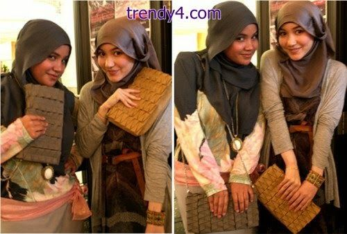 Egyptian Hijab Fashion Styles 2014