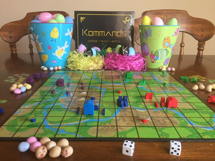Board gaming eggs-stravaganza!  🐣🐰Eggs-cellent game for the holidays! 🐰🐣 In a battle to the death! So awesome. I kicked butt. Could be my amazing dice skills 🍀 We are expecting the second board and more player pieces soon. Can't wait to try out the 8 player version! What?!?!  #newboardgame #boardgame #comingsoon #familyfun #familygame #gamenight #easter #eggs #fun