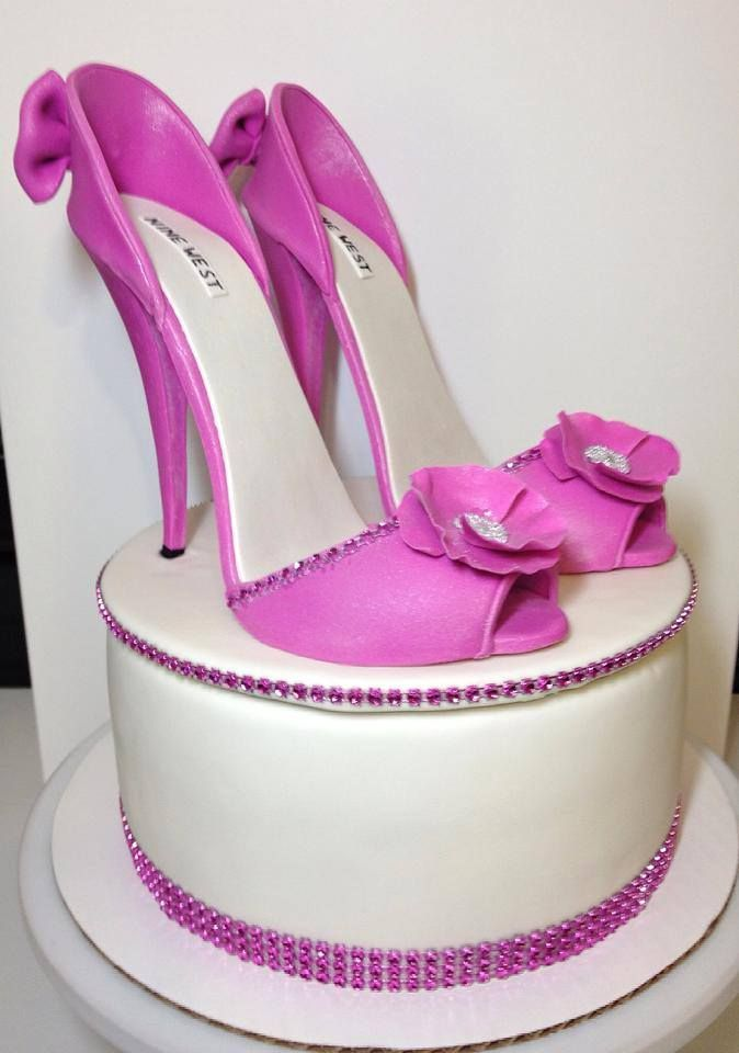 Cake Designs Shoes : 161 best Cakes by Klondike Cakes images on Pinterest