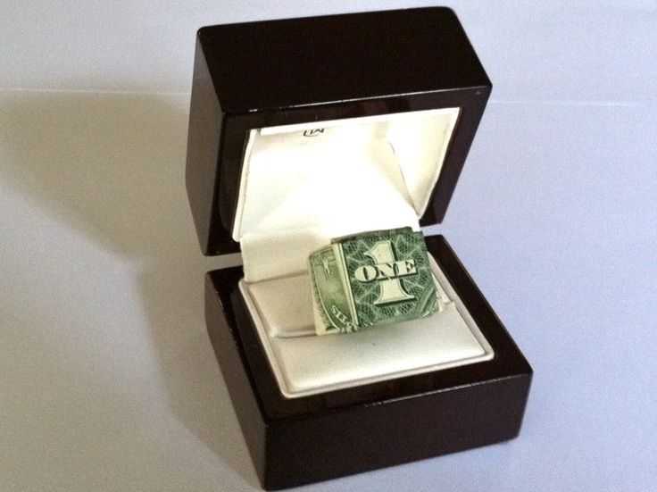 how to make an origami money ring stylebaggage gift