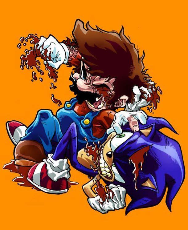 Mario vs. the World - Quand Mario pète les plombs contre les autres jeux vidéos.