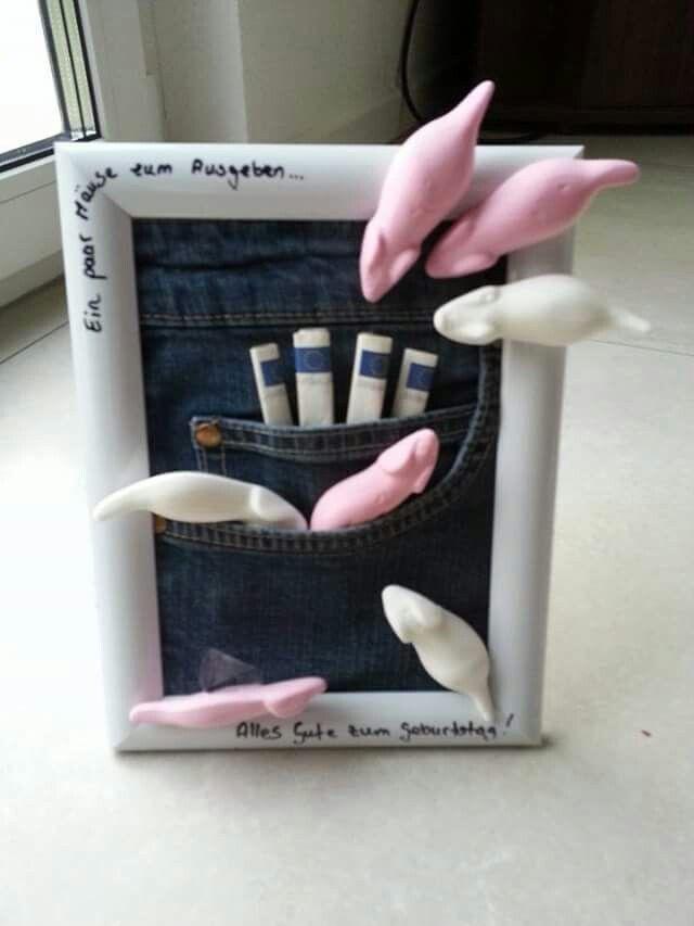 Geschenke aus der Küche Mäuse in Jeans – #Jeans #Mäuse