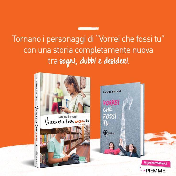 Girls siete pronte a vivere una storia d'amore da sogno, romantica e divertente? Sta per arrivare #VorreiCheFossiAncoraTu, il nuovo romanzo di Lorenza Bernardi, da martedì 13 settembre in libreria. <3
