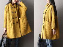 Frauen Thicken Wolle Oberbekleidung