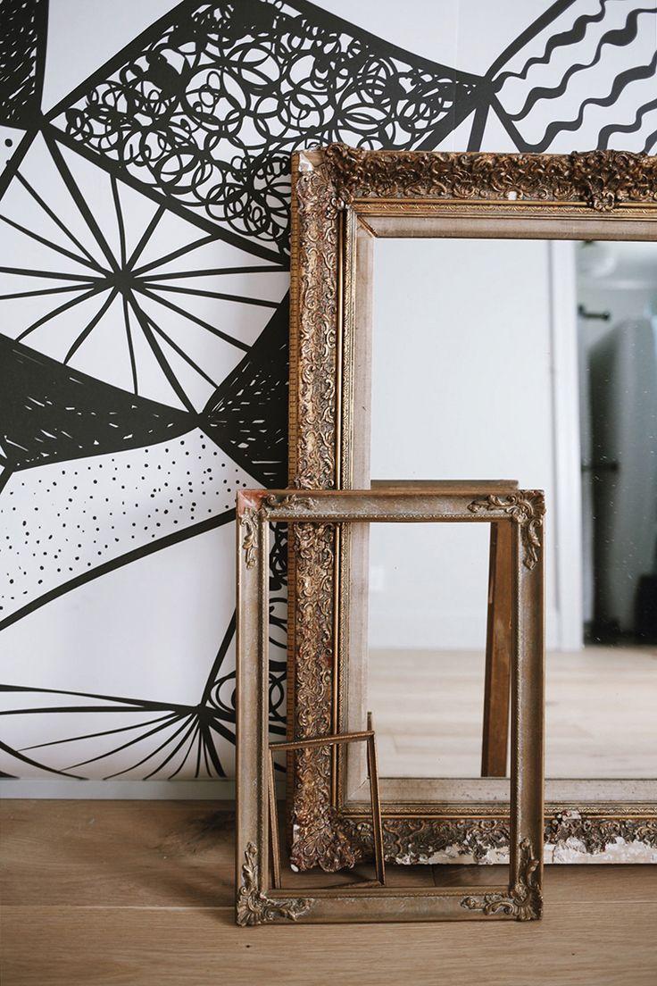 683 best wallpaper images on pinterest wallpaper wallpapers geometric black and white wallpaper mural