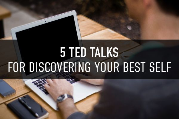 From finding your passions to creating meaning in your life, we dug up some of the best TED Talks on creating the best version of yourself.