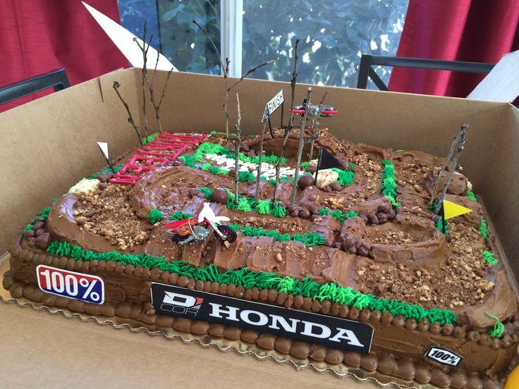 outdoor motorcross cake