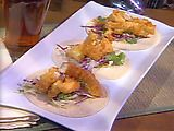 Fish Tacos with Roasted Tomatillo Salsa Recipe : Emeril Lagasse : Recipes : Food Network