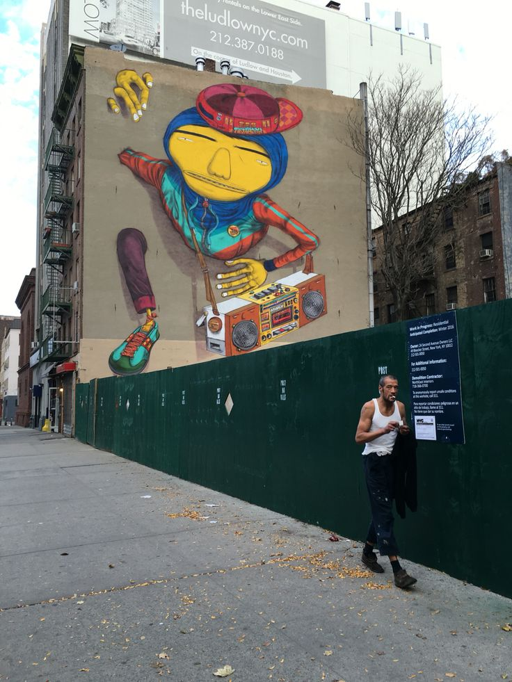 William Cokeley/ Light Up 2015, NYC Os Gemeos- artist