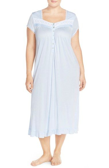 Eileen West Modal Ballet Nightgown (Plus Size) available at #Nordstrom