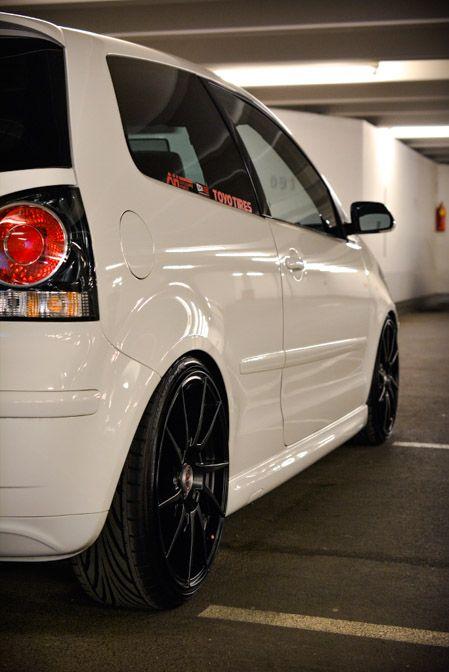 Teamrider Alex Koch - VW Polo 9n3 GTI on Dotz Kendo Dark
