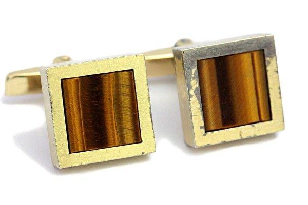 Cufflinks Tigers Eye Gold Silver Gemstone Jewelry https://tezsah.com/shop/en/detail/index/sArticle/1508