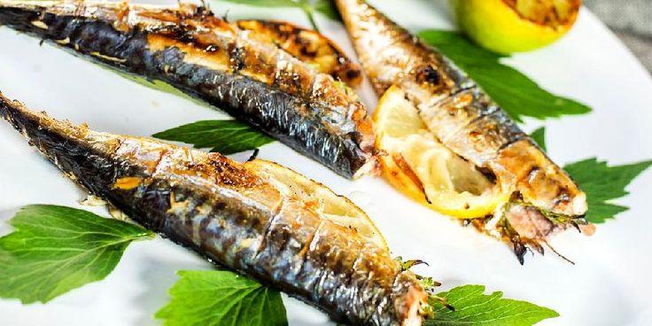 Grillet makrell - oppskrift