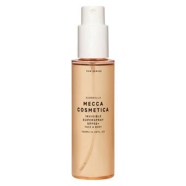Mecca Cosmetica   Mist and go with this weightless, transparent sunscreen for face and body. The perfect solution for fuss-free sunprotection on-the-go