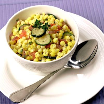 Zucchini Corn Sauté | Meals.com - This Zucchini-Corn Sauté is a four ...