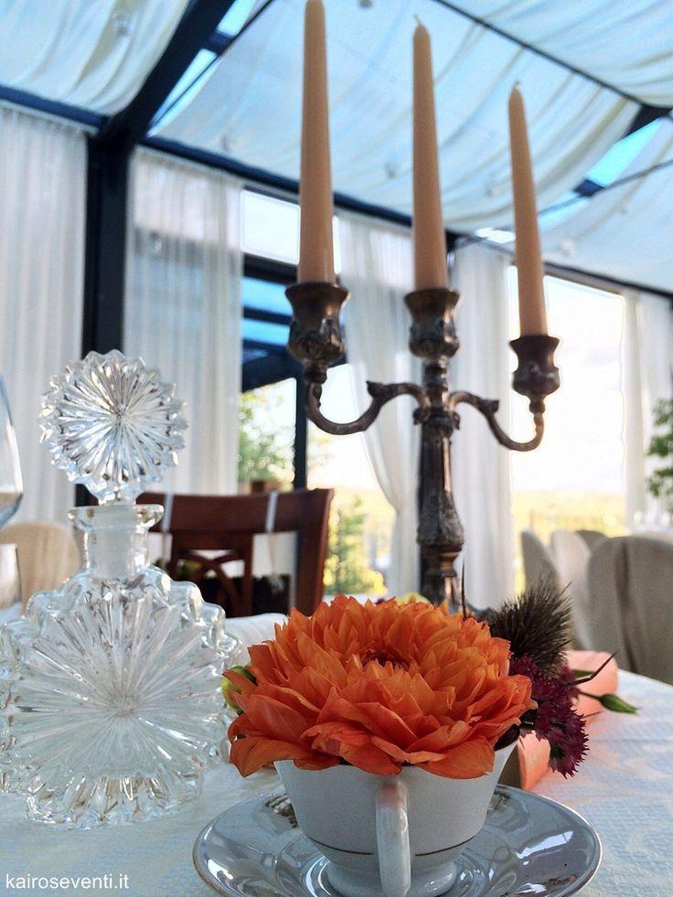 Particolare di  centrotavola   centerpiece vintage. Wedding designer & planner Monia Re - www.moniare.com   Organizzazione e pianificazione Kairòs Eventi -www.kairoseventi.it   Foto Oscar Bernelli