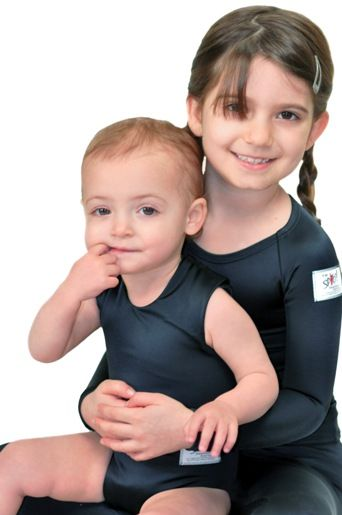 Clothes for children with sensory processing disorders. SPIO is made of a patented Lycra fabric with a unique multi-directional stretch.  SPIO offers a variety of comfortable and affordable styles that can be worn under clothing all day.
