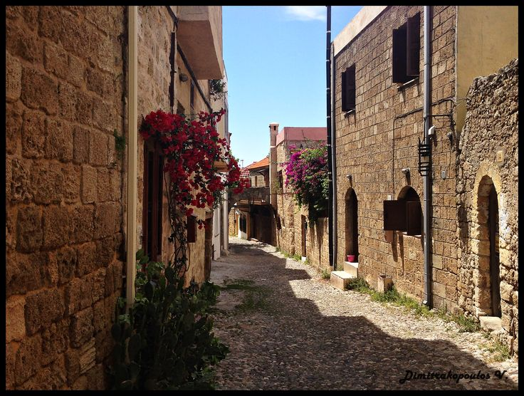 rodos old town