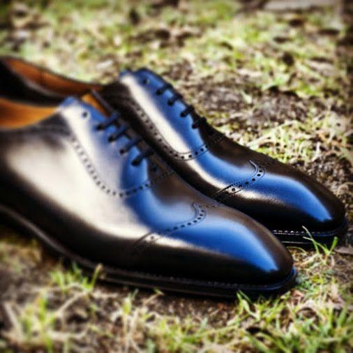 Chaussures bien cirées